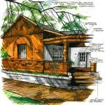 casa estilo inglés - década del 40