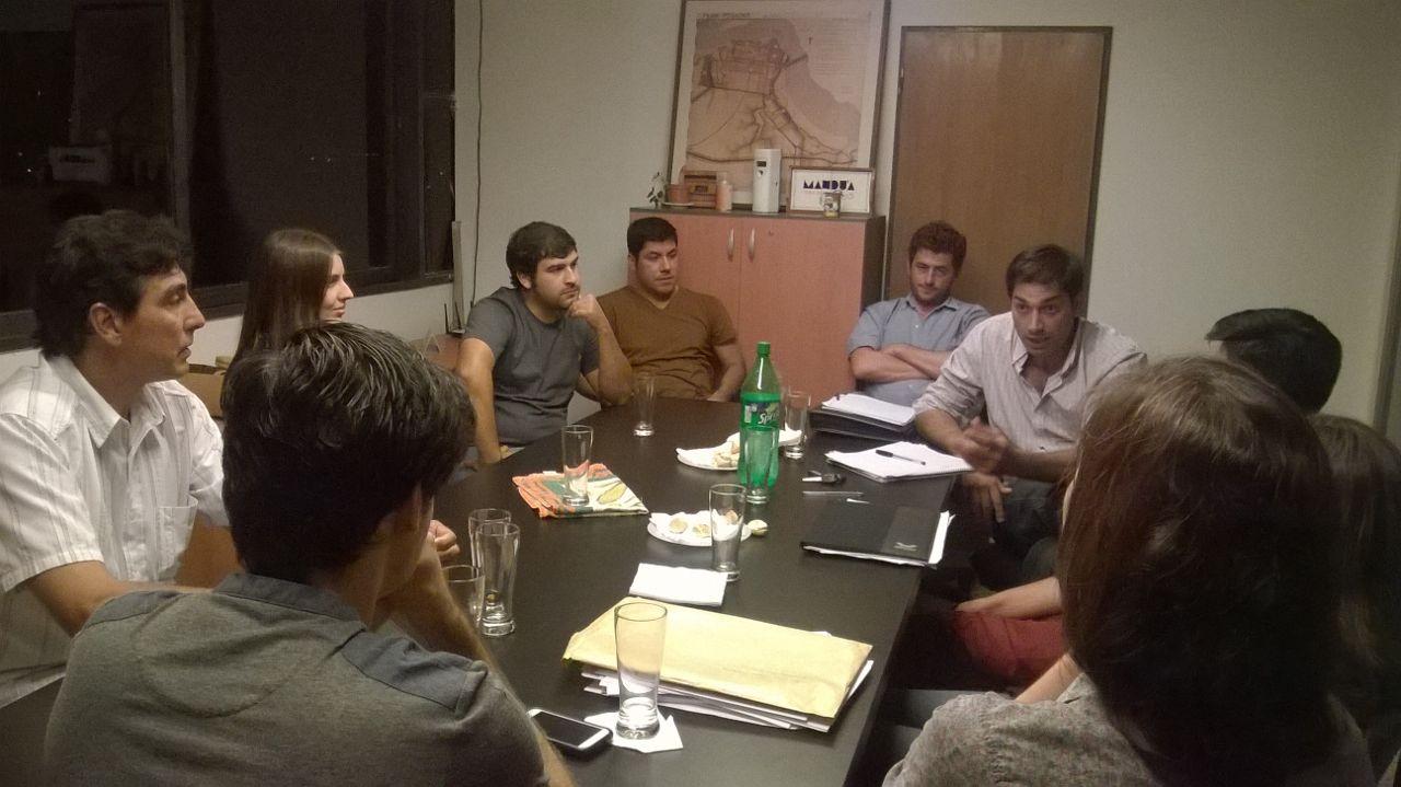 Encuentro de j venes colegas con autoridades del distrito for Bolsa de trabajo arquitecto