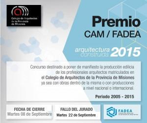 PREMIO OBRA CONSTRUIDA 2015