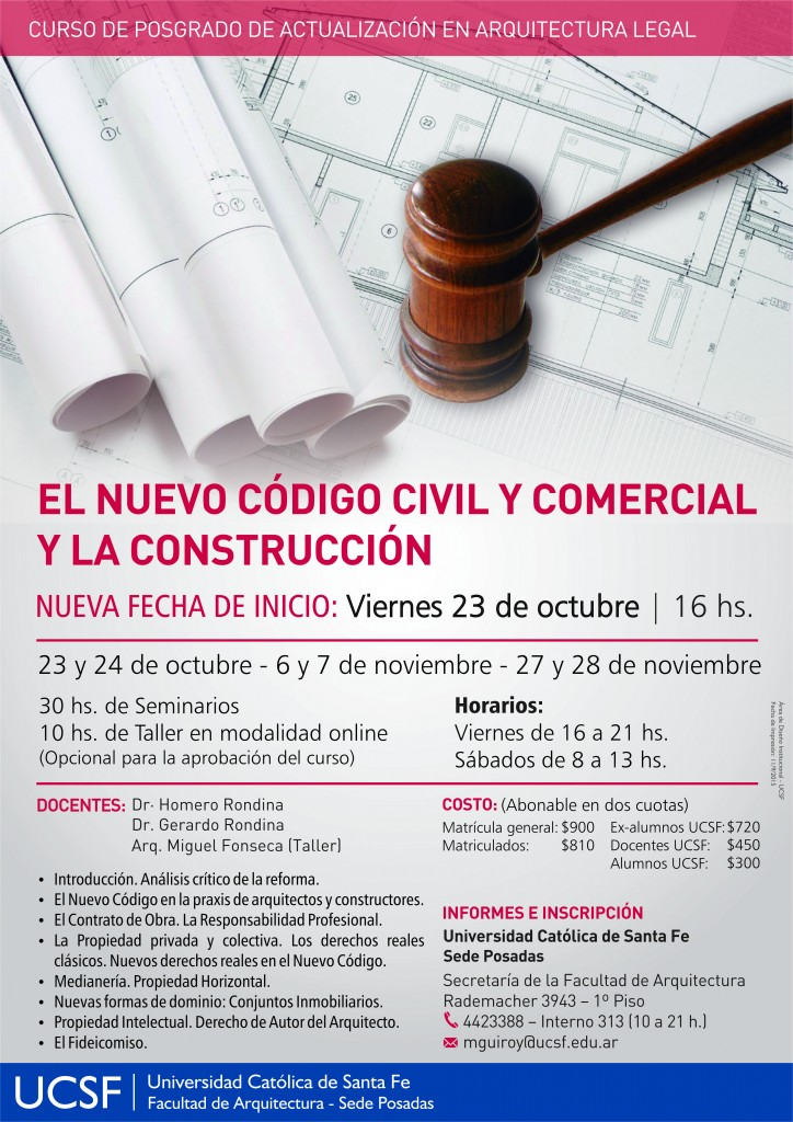 Afiche Curso Nuevo Código nuevo