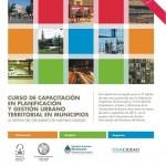 Curso Capacitacion Planificacion y Gestion Urbano